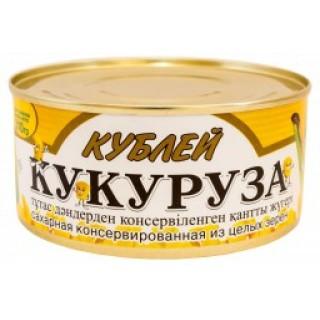 Кукуруза сахарная консервированная из целых зерен 310 г