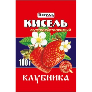 Кисель клубника 100 г