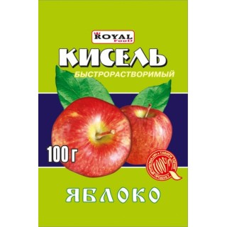 Кисель яблоко 100 г