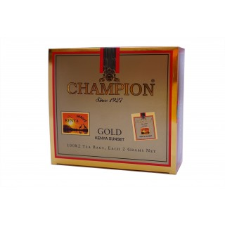 Чай Champion Kenya Sunset GOLD пакет. 100*2 г